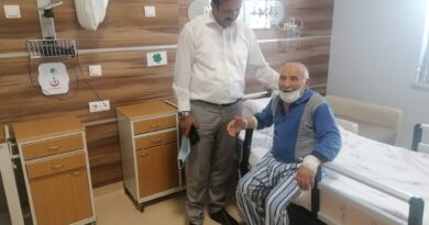 Başkan TORUN'dan Hasta Ziyareti